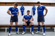 Here's Leinster's new 'electric blue' home jersey and white alternate kit