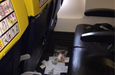 Ryanair passenger forced to sit next to vomit on 1.5 hour flight says he was 'definitely conscious of the smell'