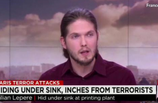Man who hid under sink in Paris attacks slams media for 'revealing his location'