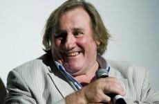 Depardieu: I'm like an elephant, I have a lot of pee