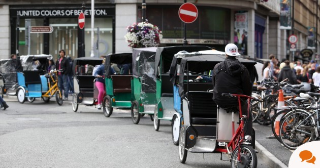 Revenue and gardaí need to clamp down hard on the owners of rickshaws before it's too late