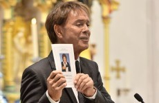 Cliff Richard sings for his friend as Cilla Black is laid to rest in Liverpool
