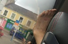 This Irish lad sat behind the worst bus passenger ever