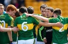 One change in Kerry attack for All-Ireland minor semi-final while Derry make three changes