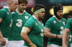 Ireland pull Moore from Leinster duty with prop in precautionary moon boot