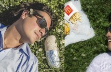 McDonald's in the US were caught rapid using these gas viral photos in their ads