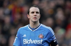 John O'Shea starts for Sunderland, West Ham's Ireland U19 starlet makes bench