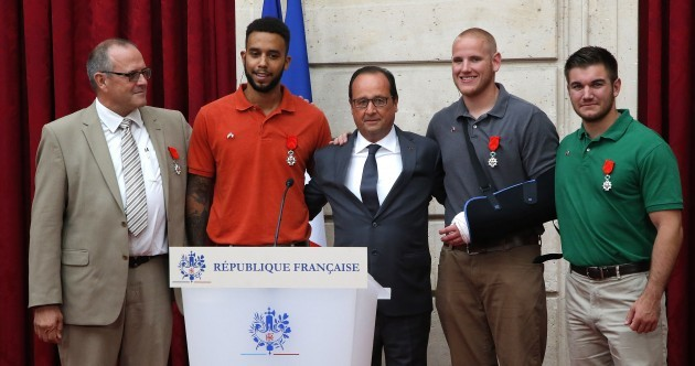 Blow-by-blow account of how heroes overpowered French train attacker