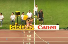 10,000m runner learns the hard way why you should never celebrate too early