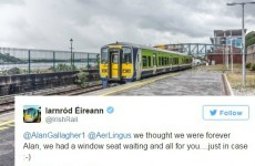 Irish Rail and Aer Lingus battled it out on Twitter and it was mortifying