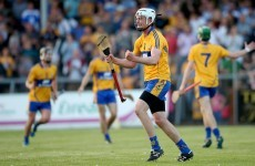 Fractured ankle injury blow for Clare senior hurler and U21 captain