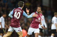 Jack Grealish helps Villa survive League Cup scare, Walters on the mark for Stoke