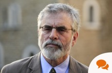 Gerry Adams: 'Sinn Féin has no special responsibility to respond to allegations about the IRA'