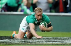 Schmidt set to hand Fitzgerald 13 shirt for Ireland's clash with Wales