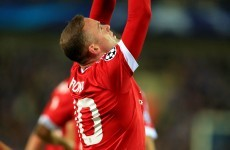 Wayne Rooney ends his goal drought with a hat-trick in Belgium