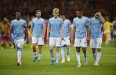 Lazio crash out of the Champions League