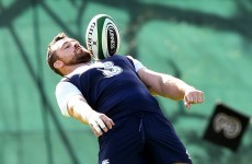 Cian Healy could make his Ireland comeback as soon as next week