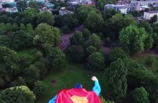 Is it a bird? Is it a plane? No, it's actually a Superman drone