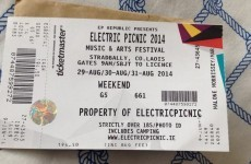 Keep your wits about you – there are a LOT of counterfeit tickets to big events doing the rounds