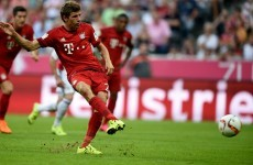 'You have to throw fish to the sharks': Müller gives penalty to Robben instead of sealing hat-trick