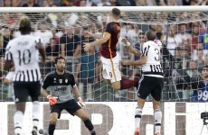 Dzeko's first goal for Roma leaves Juventus without a point after two games