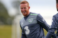 Ireland's new striker Rooney intent on taking his chance after first day with senior set-up