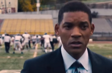 Watch the epic trailer for Will Smith's new movie about NFL concussions