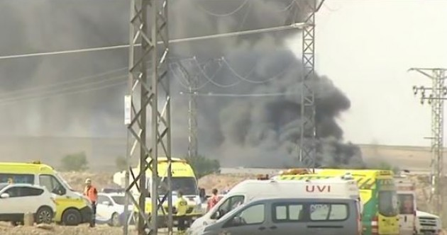 Five killed in fireworks factory tragedy