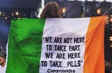This photo of an Irish flag at Creamfields will make you facepalm
