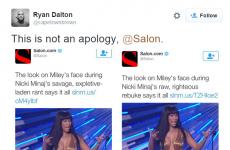 Salon got itself into hot water for calling Nicki Minaj's VMA speech 'savage'