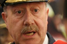 Martin Callinan had up to 10 black bags of his personal papers shredded