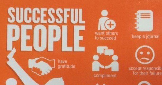 The major differences between successful and unsuccessful people