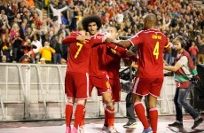 Fellaini, Hazard and Man City new boy De Bruyne do the business for Belgium