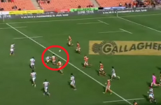 Waikato scored a ridiculously good coast-to-coast try against Auckland