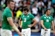 Ireland suffer Twickenham defeat after dire first half against England