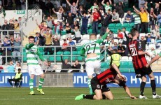 Shamrock Rovers and Bohemians share the spoils in feisty Dublin derby