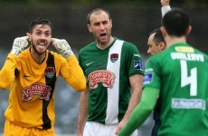 Cork City's hopes of winning the title are surely over after tonight's result