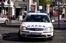 Female Garda hospitalised after patrol car is rammed