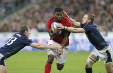 PSA's France finish World Cup warm-ups with win over spirited Scotland