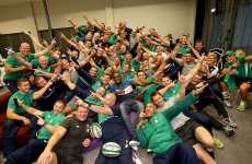 Joe Schmidt's Ireland had a very special guest speaker during the week
