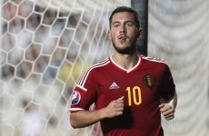 'Hazard was the worst and Benteke put in a half-performance' – Belgium coach lays into stars