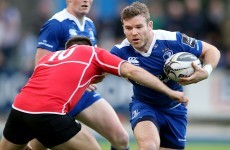 Shoulder issue prevents D'Arcy's return after RWC omission, say Leinster
