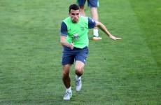 Seamus Coleman returns to the starting XI as Ireland entertain Georgia
