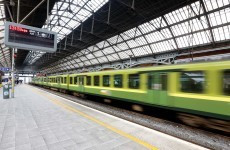Dart from Bray to Greystones suspended due to injured person on the line