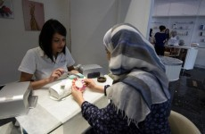 'Sometimes, I take my veil off and only put it back on when I leave'