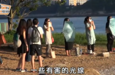 These women are staring at the sun as an aid to weight loss