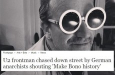 12 of the most Bono headlines ever