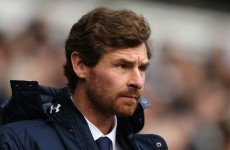 Andre Villas-Boas will be job-hunting at the end of the season