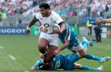 'I didn't assault any of the police officers' - England outcast Tuilagi