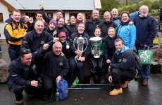 The Six Nations trophies climbed the highest mountain in Ireland today